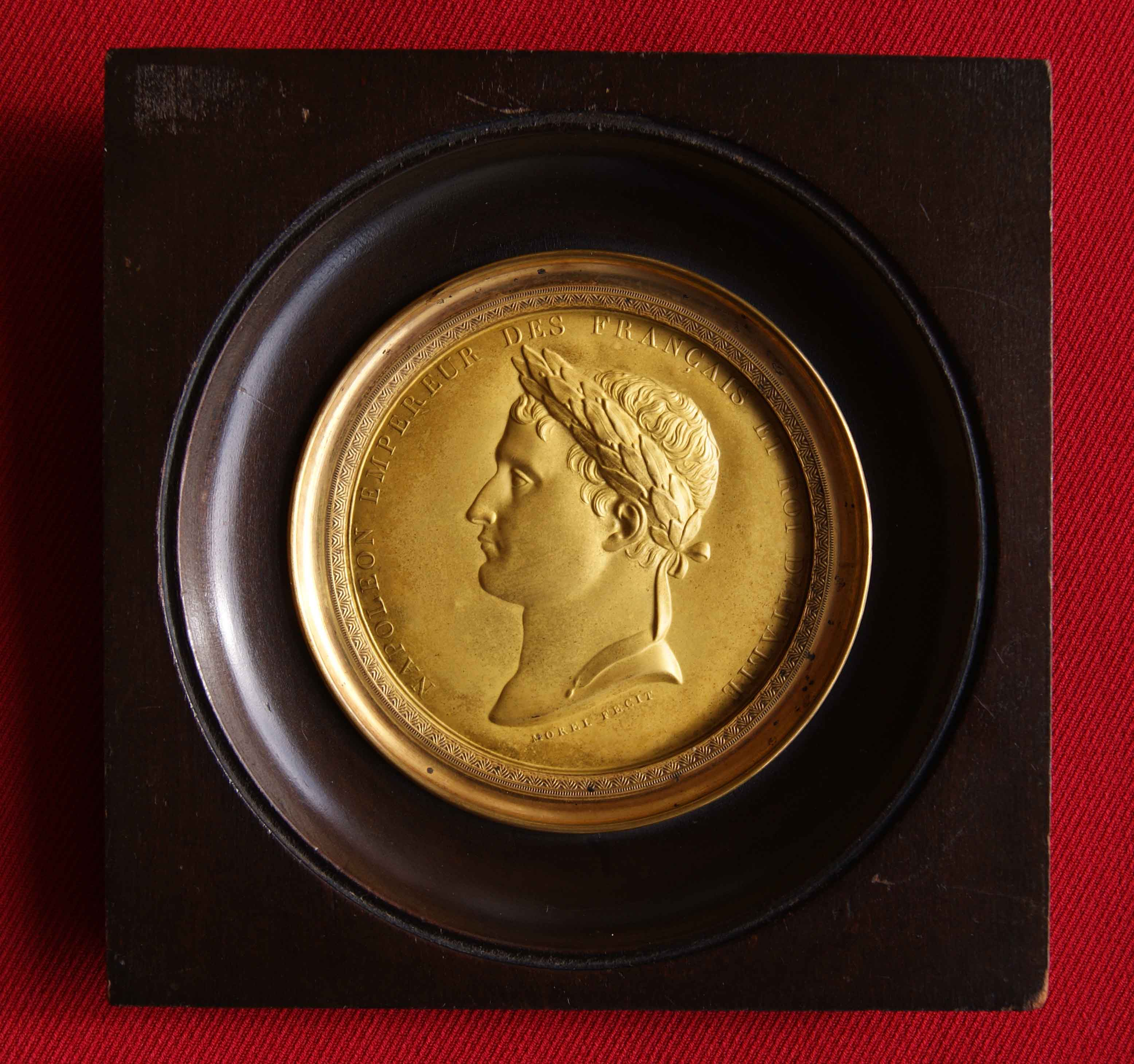 Medaille Napoleon Empire ca. 1807 von Gabriel-Raoul Morel (1764-1832 ...